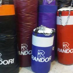 Bolsa de boxeo Randori de 1.20 m de alto, con relleno y cadena.